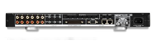nuvo essentia multiroom audio amplifier system